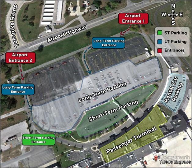 Parking | Toledo Express Airport